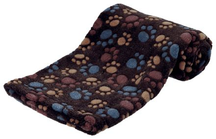 Trixie Flísová deka LASLO s packami 100 x 70 cm hnedá