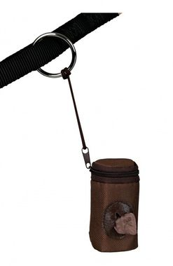 Trixie Nylonový zásobník hnedý so zipsom + BIO sáčky (2 role á 10ks)