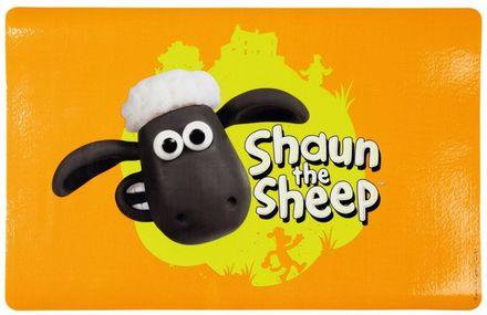 Trixie Podložka pod misky ovečka Shaun 44 x 28 cm oranžová
