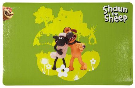 Trixie Podložka pod misky ovečka Shaun 44 x 28 cm zelená