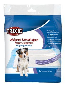 Trixie Podložky pre šteniatka s vôňou levandule - plienky 40 x 60 cm, 7 ks