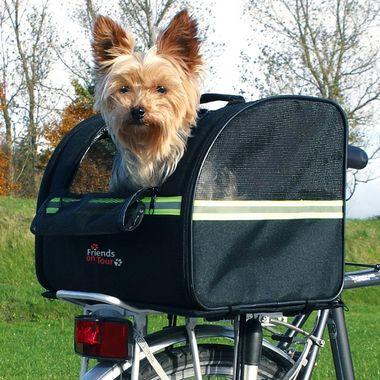 Trixie Prepravný nylonový box na nosič bicykla 35 x 28 x 29 cm