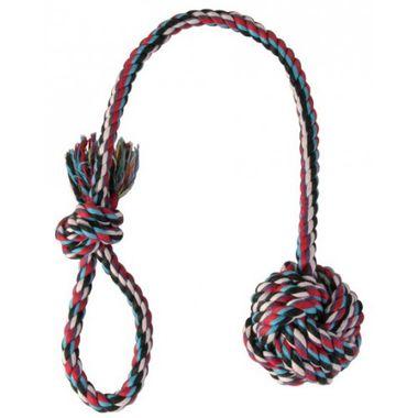 Trixie Preťahovadlo - lano s loptou 7 cm/50 cm