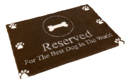 "Vetbed® protišmykový ""Reserved For The Best Dog In The World"" 100 x 75 cm"