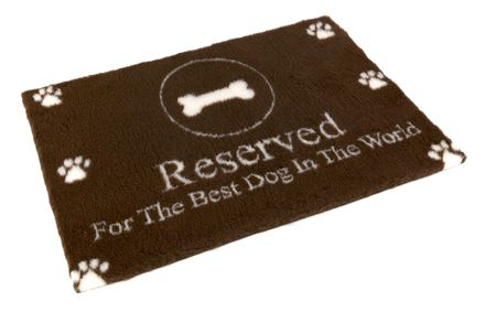"""Vetbed® protišmykový """"Reserved For The Best Dog In The World"""" 100 x 75 cm"""